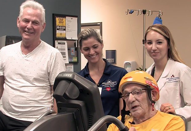Patient Creates Cardiac Rehab Tour de France