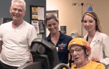 Patient Creates Cardiac Rehab Tour de France