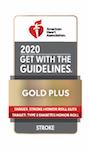 Siga las pautas Gold Plus Target Stroke Honor Roll Elite