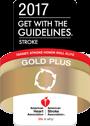 Premio Gold Plus Stroke 2017 de la American Stroke Association